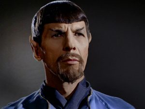 Evil Spock in the Mirror Universe